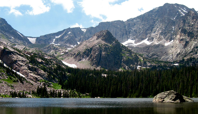 Photo of Thunder Lake, Rocky Mountain National Park